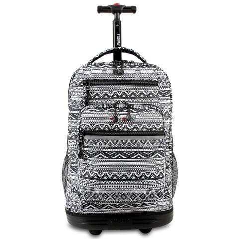 J World Sundace Tribal Rolling 15-inch Laptop Backpack