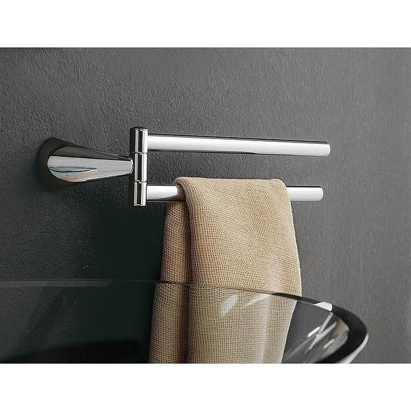 "Nameeks 5519 dx/sx Toscanaluce Eden 14"" Wall Mounted Towel Bar - Chrome"
