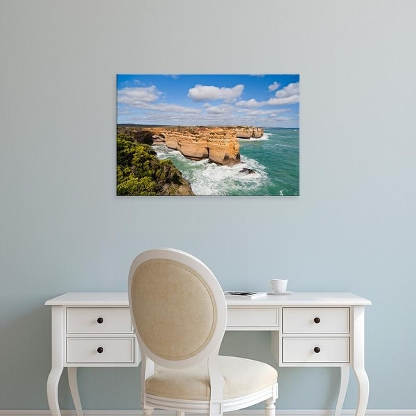 Easy Art Prints Martin Zwick's 'Bay Of Martyrs With Bay Of Islands' Premium Canvas Art