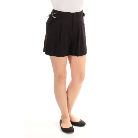 1. STATE Womens Black Short Juniors Size: Size 0 - Size 0