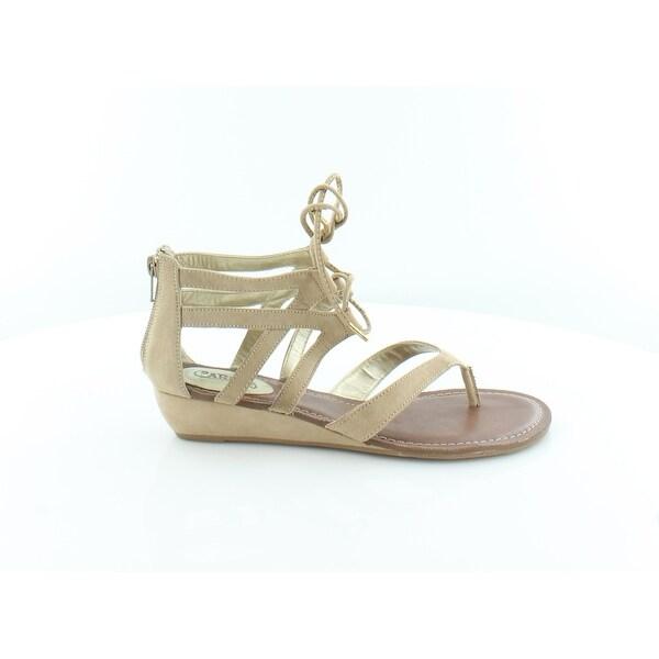 Carlos by Carlos Santana Lacey Women's Sandals & Flip Flops Brulee - 7