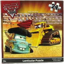 Disney Pixar Cars 24-Piece Lenticular Puzzle - multi-color - 12.0 in. x 9.0 in.