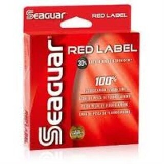 Seaguar Red Label 100% Fluorocarbon Line 200yd 6lb