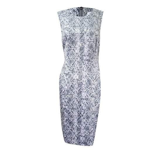 22b54640 Shop Calvin Klein Women's Faux-Suede Printed Sheath Dress - Free Shipping  Today - Overstock - 17572869