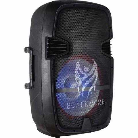 """BJS-158BT Blackmore 15"""" Active-Amplified Pro Audio Speaker With LED back lit Woofer"""