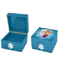 Mr. Christmas Disney Frozen Elsa and Anna Musical Keepsake Box #11891 - Blue