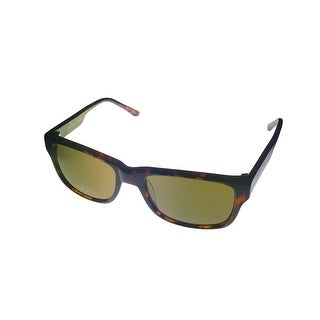 Perry Ellis Mens Demi Plastic Rectangle Rxable Sunglass PE3036 1 - Medium