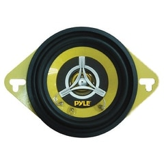"SPEAKER 3.5"" 2-WAY PYLE GEAR 120WATTS; YELLOW BASKET/CONE"