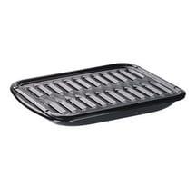 "Range Kleen BP102X Porcelain Broiler Pan And Grill, 13"" x 16"""