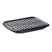 "Range Kleen BP102X Porcelain Broiler Pan And Grill, 13"" x 16"""
