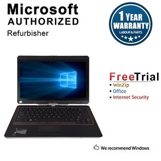 Refurbished Dell Latitude XT3 13.3'' Laptop Intel Core i3-2310M 2.1G 4G DDR3 250G Win 7 Pro 64-bit 1 Year Warranty - Black