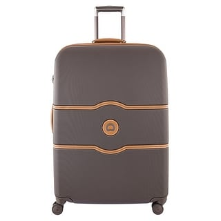Delsey Paris Chatelet Hard+ 28 Inch Spinner, Brown