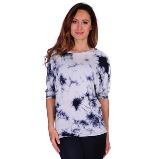 Simply Ravishing Women's Batwing Short Sleeve Top (Size: S-3X)