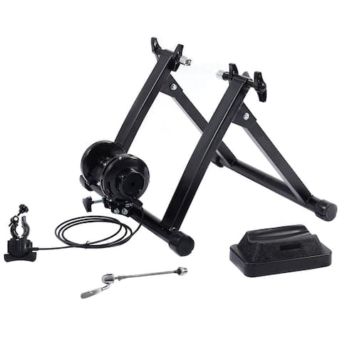 Costway Magnetic Indoor Bicycle Bike Trainer Exercise Stand 5 levels