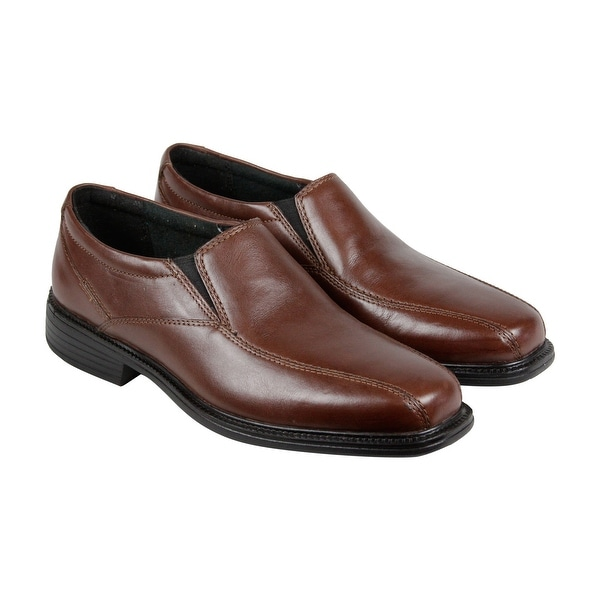 Bostonian Bolton Mens Brown Leather Casual Dress Slip On Loafers Shoes