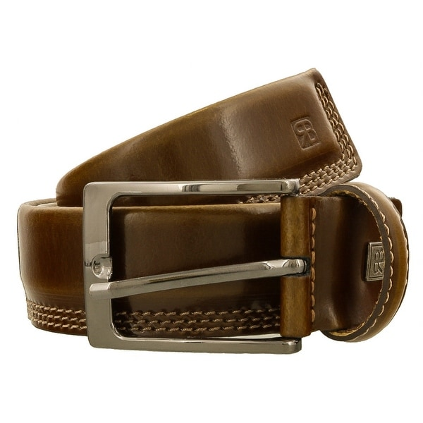 Renato Balestra J141 MARRONE Brown Leather Mens Belt