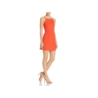 French Connection Womens Mini Dress Sleeveless A-Line