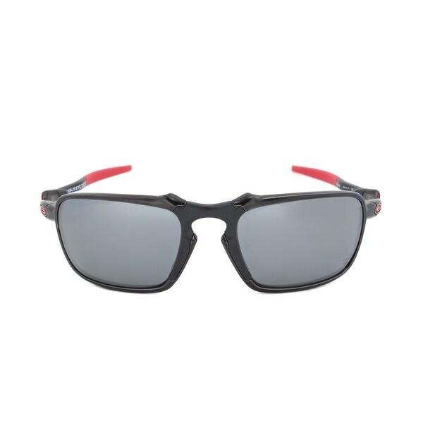 9ebf6c652ae13 Shop Oakley Badman Polarized Ferrari Edition Sunglasses OO6020-07 ...