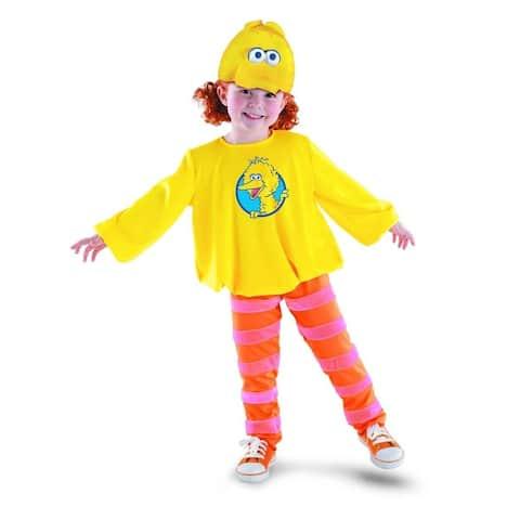 Sesame Street Big Bird Classic Costume w/ Headpiece Child - Yellow