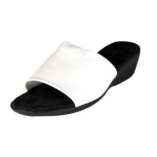 Aerosoles Badminton Open Toe Synthetic Slides Sandal