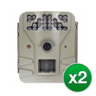 Moultrie MCG-13200 Game Spy 2 Plus Camera with Long Range 12-LED Infrared Flash (850nm) - (2-Pack)