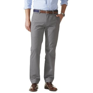 Dockers Saturday Khaki D3 Classic Fit Chinos Pants Grey 36W x 34L - 36