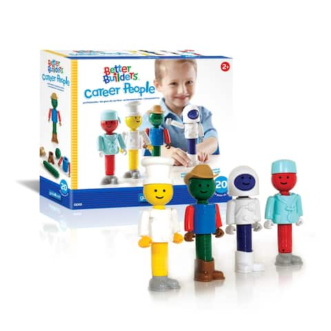 Better Builders® Career People - 20 pc. set - Multicolor - 4.44 x 7.62 x 17.7
