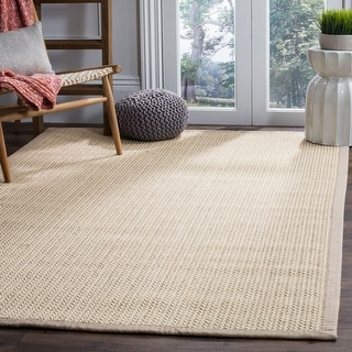 Link to Safavieh Natural Fiber Margret Sisal/ Wool Rug Similar Items in Industrial Rugs