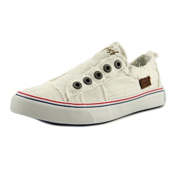 Blowfish Play Women Canvas White Fashion Sneakers