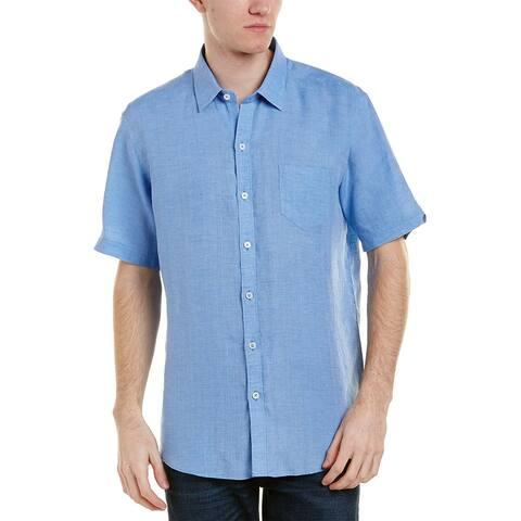 Zachary Prell Kaplan Linen Woven Shirt