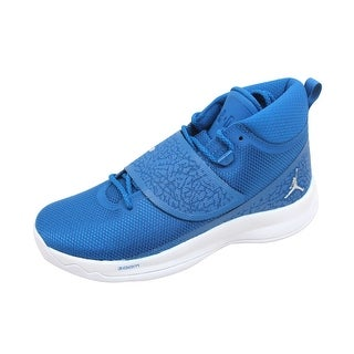 Nike Men's Air Jordan Super Fly 5 PO Team Royal/Metallic Silver 881571-406