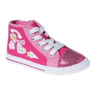Josmo Girls Paw Patrol Hi-Top, Pink