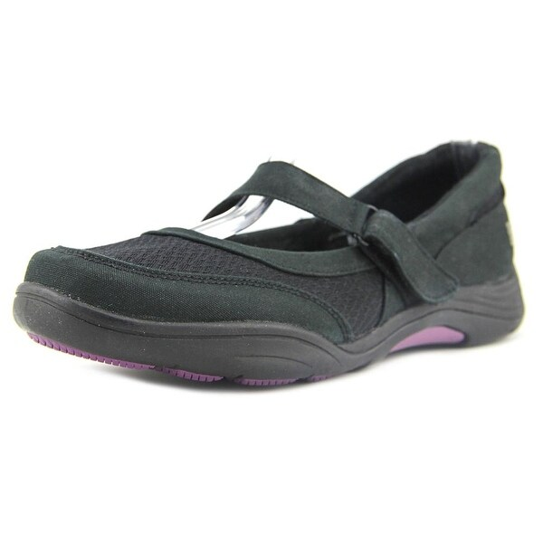 Grasshoppers Sunny Women Round Toe Canvas Black Mary Janes