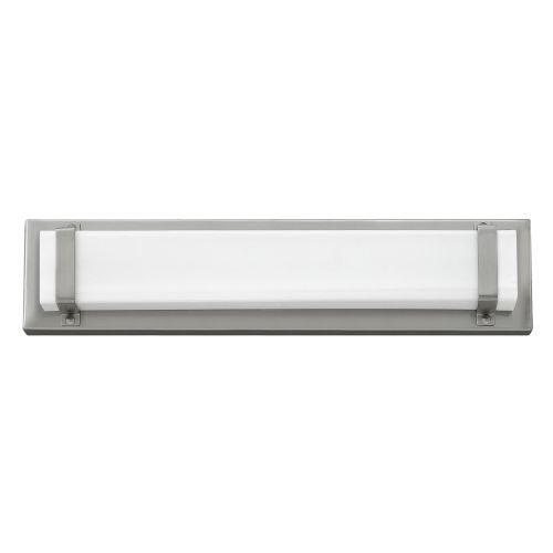Hinkley Lighting 51812 1 Light ADA Compliant LED Bathroom Bath Bar with White Shade from the Tremont Collection
