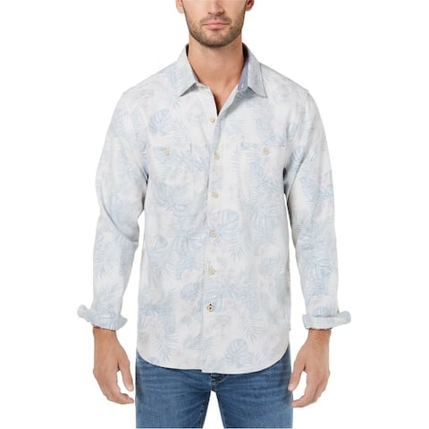 Tommy Bahama Mens Beachy Palms Button Up Shirt