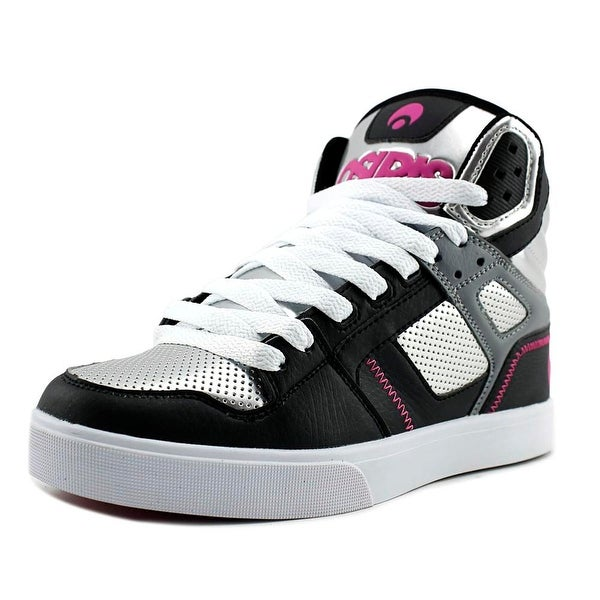 Osiris Clone Women Round Toe Synthetic Silver Skate Shoe