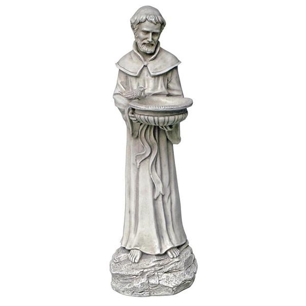 Design Toscano Saint Francis: Nature's Patron Saint Statue
