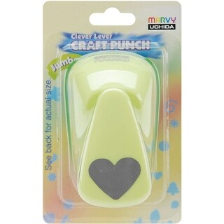 Clever Lever Jumbo Craft Punch-Heart