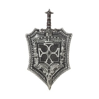 Crusader Knight Sword & Shield Weapon Costume Accessory - Standard - One Size