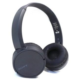 Sony MDR-ZX220BT/B On Ear Wireless Headphones With Mic - Bluetooth - NFC - Black-NEW