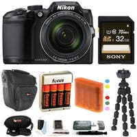 Nikon COOLPIX B500 Digital Camera w/ 32GB USB Accessory Bundle