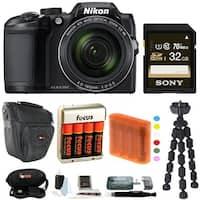 Nikon COOLPIX B500 Digital Camera w/ 32GB USB Accessory Bundle