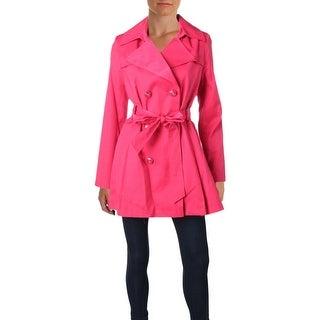 Via Spiga Womens Trench Coat Winter Lightweight