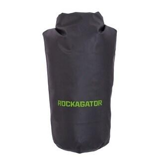 Rockagator Roll-Top Waterproof Dry Bag-Black/Green