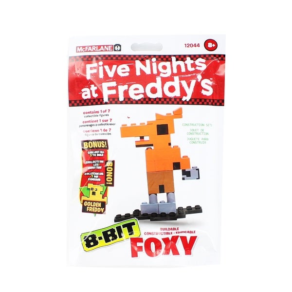 Five Nights at Freddy's 8-Bit Buildable Figure: Foxy - Multi