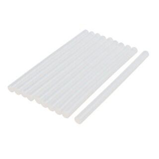 11mmx190mm Heating Gun Hot Melt Glue Craft Model Adhesive Stick Clear 10pcs
