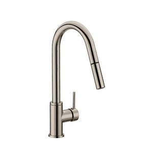 Design House 548552 Eastport 2.2 GPM Pull-Down Kitchen Faucet - satin nickel - n/a