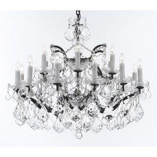Swarovski C. Rococo Crystal Chandelier With Luxe Crystals