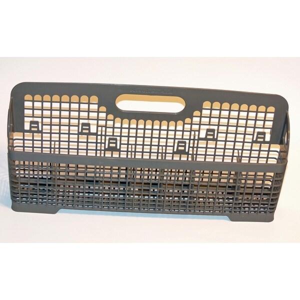 Oem Kitchenaid Dishwasher Silverware Utensil Basket Bin Originally Shipped With Kudi01dlbl6 Kudi02frss0 Kudc03ivbs3