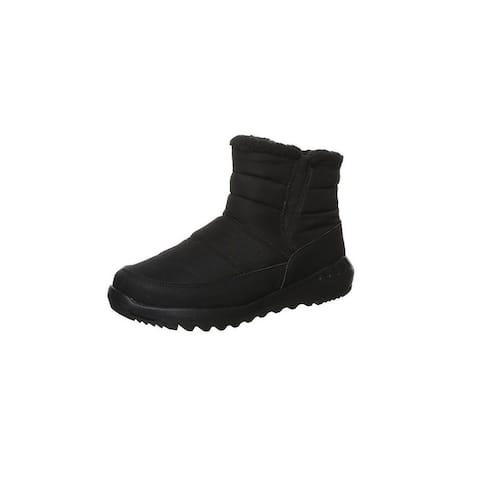 Bearpaw Casual Boots Womens Puffy Nylon Uppers NeverWet - Black II